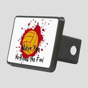 No Blood No Foul Rectangular Hitch Cover