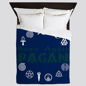 Born Again Pagan Queen Duvet