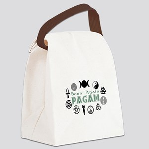 Born Again Pagan Canvas Lunch Bag