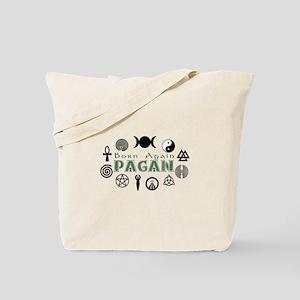 Born Again Pagan Tote Bag