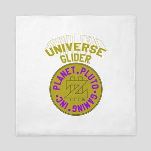 Universe Glider Space Coin Queen Duvet