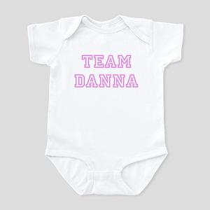 Pink team Danna Infant Bodysuit