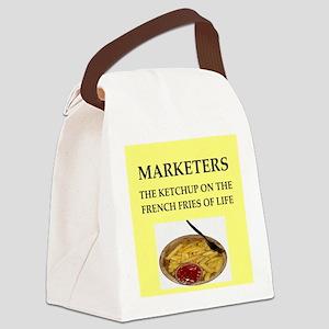 marketing Canvas Lunch Bag
