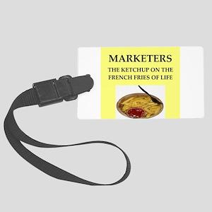 marketing Large Luggage Tag