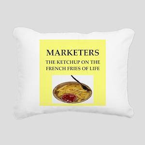 marketing Rectangular Canvas Pillow