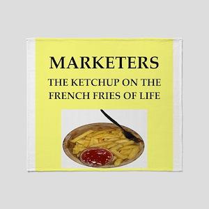 marketing Throw Blanket