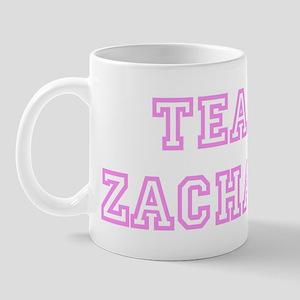 Pink team Zachary Mug