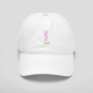 Sarah-cute-stick-girl Cap