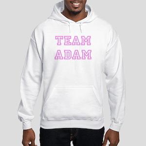 Pink team Adam Hooded Sweatshirt