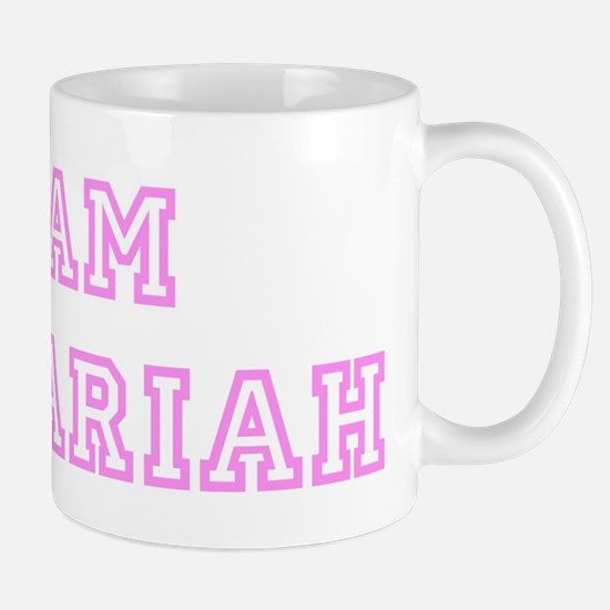 Pink team Zachariah Mug