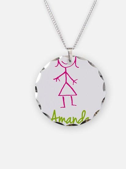 Amanda-cute-stick-girl.png Necklace