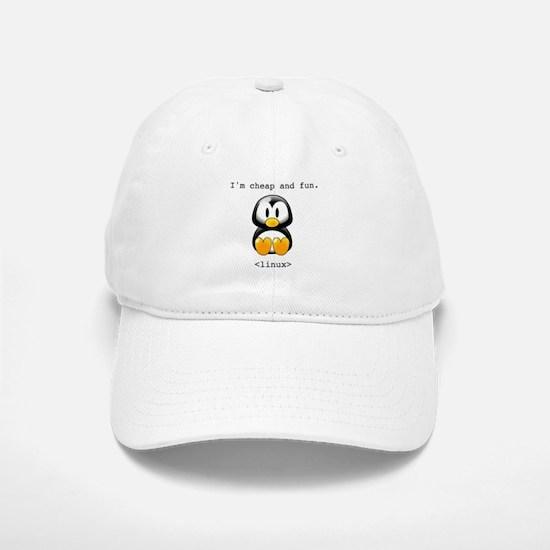 Linux - Cheap and Fun Baseball Baseball Cap