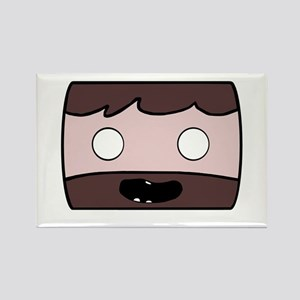Minecraft Man Rectangle Magnet