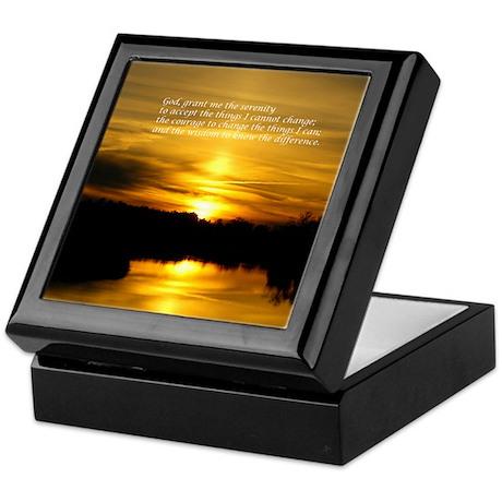 Serenity Sunset Keepsake Box