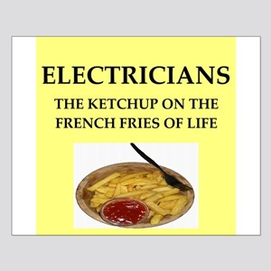 electrician Small Poster