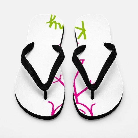 Kathy-cute-stick-girl.png Flip Flops