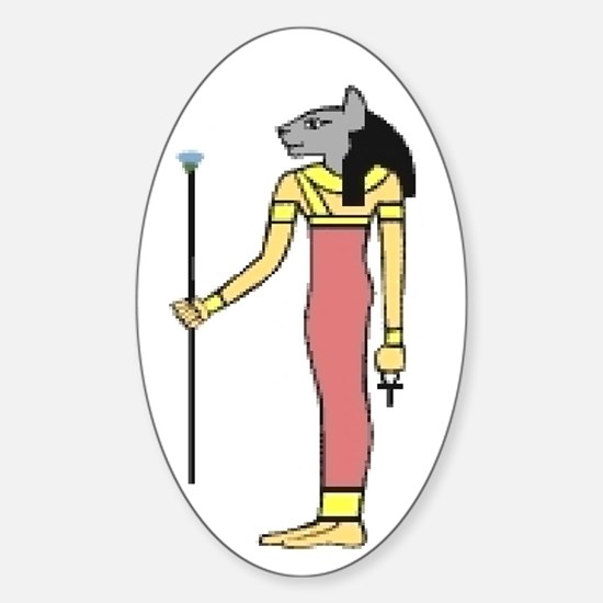 House of Bastet Oval Decal