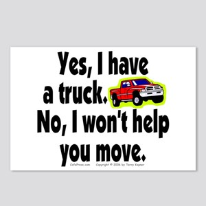 Yes/No Truck. Postcards (Package of 8)