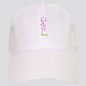 Annie-cute-stick-girl Cap