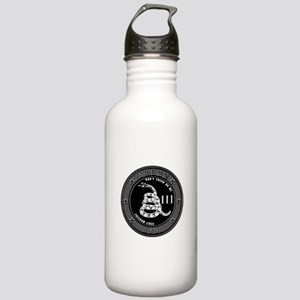 Don't Tread On Me! Stainless Water Bottle 1.0L