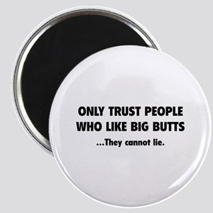 Only Trust People Magnet