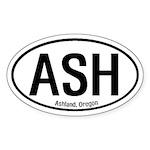 Ashland, Oregon Oval Sticker