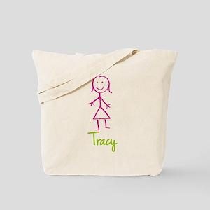 Tracy-cute-stick-girl Tote Bag