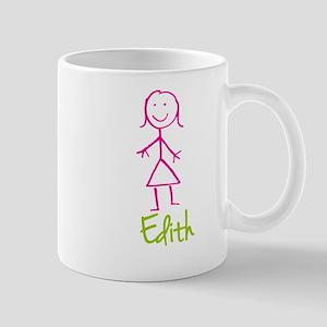 Edith-cute-stick-girl Mug