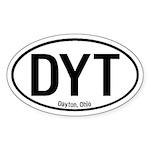 Dayton, Ohio Oval Sticker