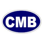 Columbus, Ohio Oval Sticker
