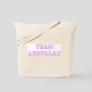 Pink team Abdullah Tote Bag