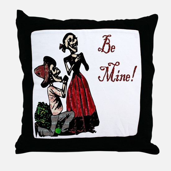 Abby Normal Valentine Throw Pillow
