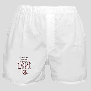 Pretend I'm Loki Boxer Shorts
