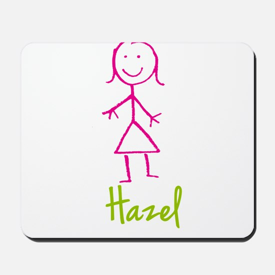 Hazel-cute-stick-girl.png Mousepad