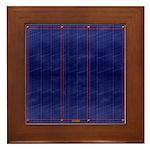 Blue Denim Dark Framed Tile