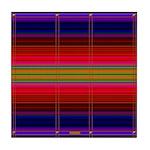 Indian Blanket Print Tile Coaster