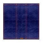 Blue Denim Dark Tile Coaster