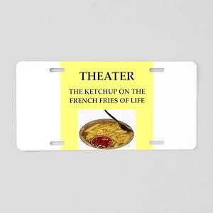 theater Aluminum License Plate