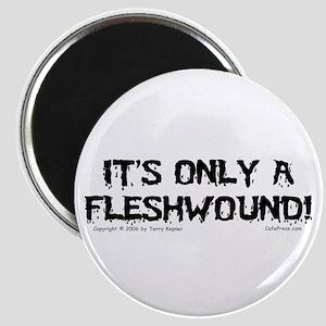 Fleshwound (black) Magnet