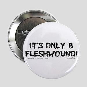 Fleshwound (black) Button