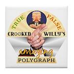 Clinton Polygraph Tile Coaster