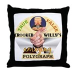 Clinton Polygraph Throw Pillow
