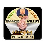 Clinton Polygraph Mousepad