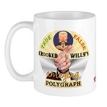 Clinton Polygraph Mug