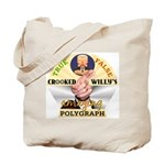 Clinton Polygraph Tote Bag