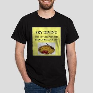 sky diving Dark T-Shirt