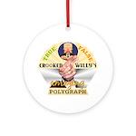 Clinton Polygraph Keepsake Ornament