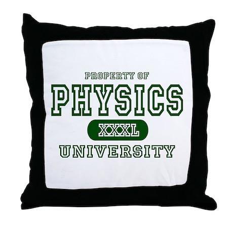 Physics University Throw Pillow