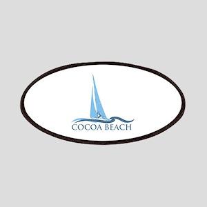 Cocoa Beach - Sail Boat Design. Patches