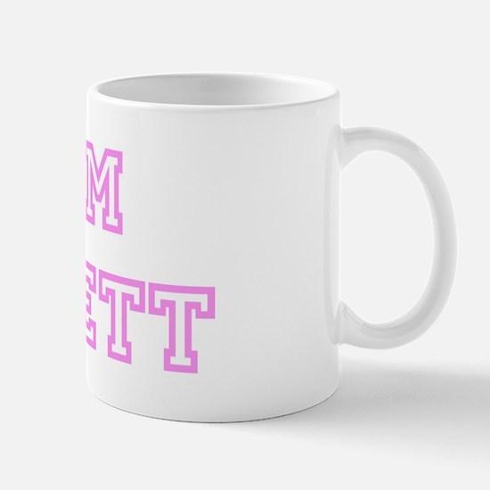 Pink team Jarrett Mug